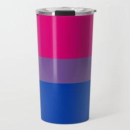 Bisexual Pride Flag LGBTQ Bi Pride Travel Mug