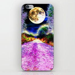 Moonlight Pathway iPhone Skin