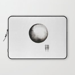 """Zen painting and Chinese calligraphy of """"Zen"""" Laptop Sleeve"""