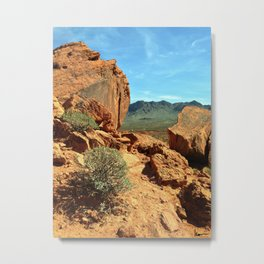 Valley of Fire No 3 Metal Print