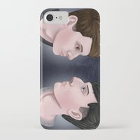 danisnotonfire iPhone & iPod Cases featuring Dan and Phil by Greenteaelf