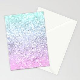 Mermaid Girls Glitter #2 (2019 Pastel Version) #shiny #decor #art #society6 Stationery Cards