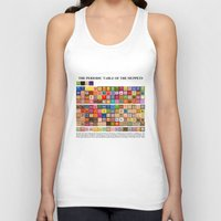 periodic table Tank Tops featuring The Periodic Table of the Muppets by Mike Boon