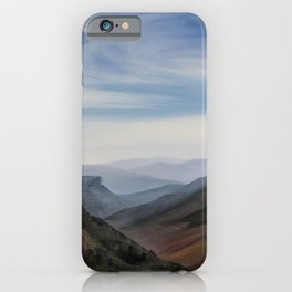 Hawksbill Mountain iPhone Case