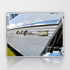Yellow Classic American Muscle Car Belair  Laptop & iPad Skin