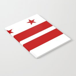 Flag of Washington D.C. Notebook