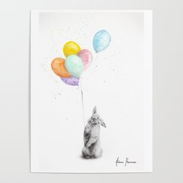 Buster and His Balloons  Poster