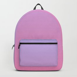 Pink and Purple Sunset Inspired Color Gradient Backpack