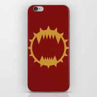 warhammer iPhone & iPod Skins featuring Warhammer 40k World Eaters Minimalist Print by Milos Cakovan
