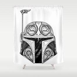 baba fett decor Shower Curtain