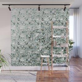 White Diamond Abstract Art Pattern 07 Wall Mural