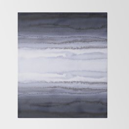 WITHIN THE TIDES BLUE Throw Blanket