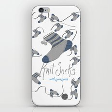 Knit Socks iPhone & iPod Skin