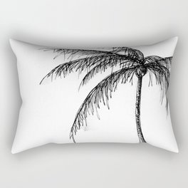 Palm Tree, Illustration Rectangular Pillow