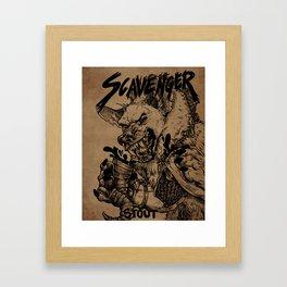 Scavenger Stout Framed Art Print