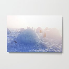 Igloo Metal Print