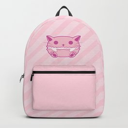 Pink Kawaii Cat Macaroon Backpack