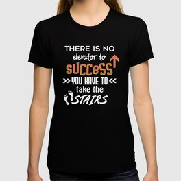 There is no Elevator T-shirt