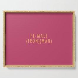 (Iron)(Man) Serving Tray