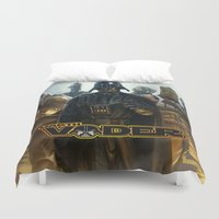 darth vader Duvet Covers featuring Darth Vader by store2u