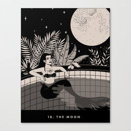 18. THE MOON Canvas Print