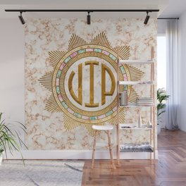 VIP – Gold multicolor Wall Mural