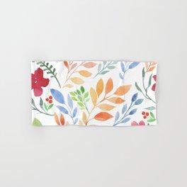 Sweet Flowers Hand & Bath Towel
