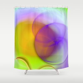 In the mood Shower Curtain