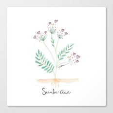 Siembra Amor Canvas Print