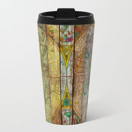 Around the World in Thirteen Maps Travel Mug