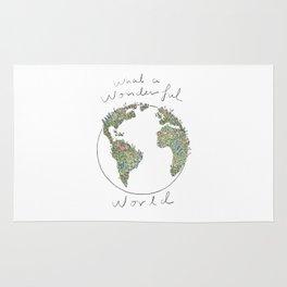 What a Wonderful World Rug