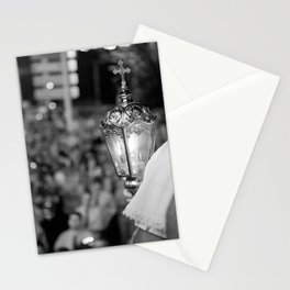 Procession lamp Stationery Cards