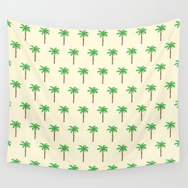 Palm tree drawing Wall Tapestry