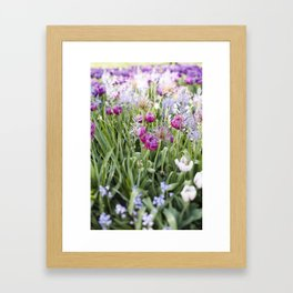 Spring Floral  //  The Botanical Series Framed Art Print