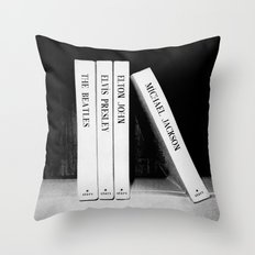 Michael Jackson - Lean Move Throw Pillow