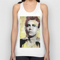 james franco Tank Tops featuring James D. by Joe Ganech