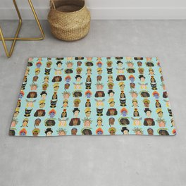 Goddesses Around the World Rug