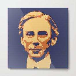 Bertrand Russell Metal Print