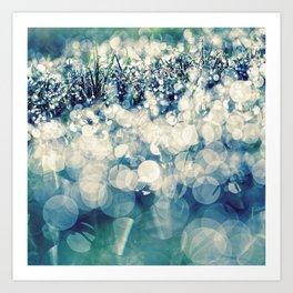 morning glitter Art Print