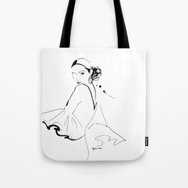 Ethnic Beauty - Spain Tote Bag