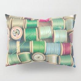 Cotton Reels Pillow Sham