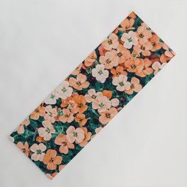 Floral Bliss #photography #nature Yoga Mat