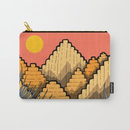 Pyramid Mountains Carry-All Pouch