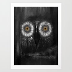 The Owl 5 Art Print