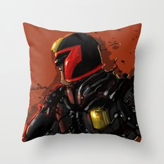 Dredd  Throw Pillow