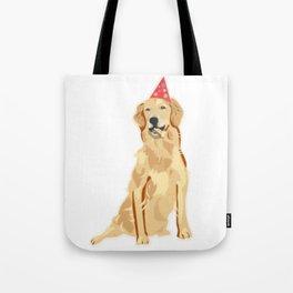 Birthday Puppy! Tote Bag