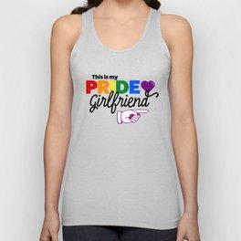This Is My Pride Girlfriend (L) Unisex Tank Top