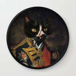 Admiral Kitty Wall Clock