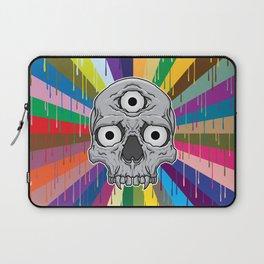 3 Eyed Jackass Laptop Sleeve