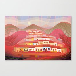 Afternoon in Guatemala Canvas Print